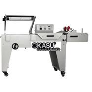 Máy cắt màng bán tự động kiểu chữ L chân cao DFQA-450