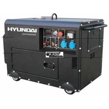 may phat dien diesel hyundai dhy 6000se hinh 1