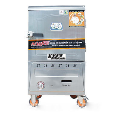 tu nau com bang gas 6 khay ns-thtqg6k (18kg gao/lan) hinh 1