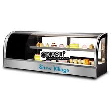 tu mat trung bay sushi snow village 200 lit ss-1.2 hinh 1