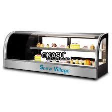 tu mat trung bay sushi snow village 280 lit ss-1.5 hinh 1