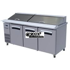 ban mat inox salad 3 canh lassele 474 lit lhrt-3b-1800   hinh 1