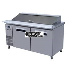 ban mat inox salad 2 canh lassele 375 lit lhrt-2b-1500 hinh 1