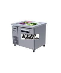 ban mat inox salad 1 canh lassele 197 lit lsrt-1b-900   hinh 1