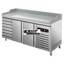 ban mat inox pizza asber 194 lit gtp-8-200-27 lr hinh 1