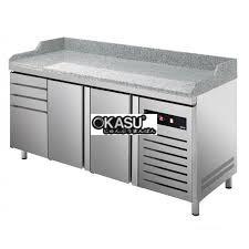 ban mat inox pizza asber 194 lit gtp-8-200-24 hinh 1